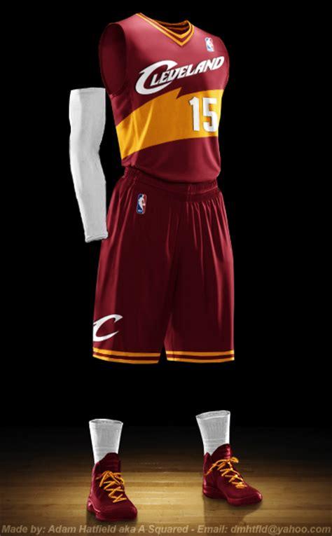 jersey design basketball 2015 cavs new cavaliers uniform on behance