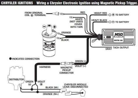 mopar electronic ignition wiring diagram starter dodge
