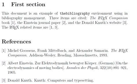reference section latex bibliographies how to customize bibtex numbering in a