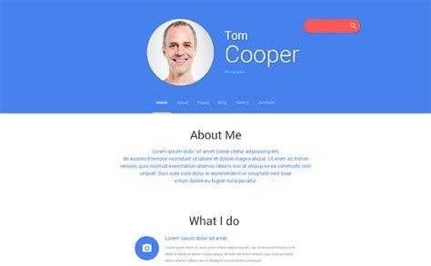 html templates for personal profile personal profile joomla template