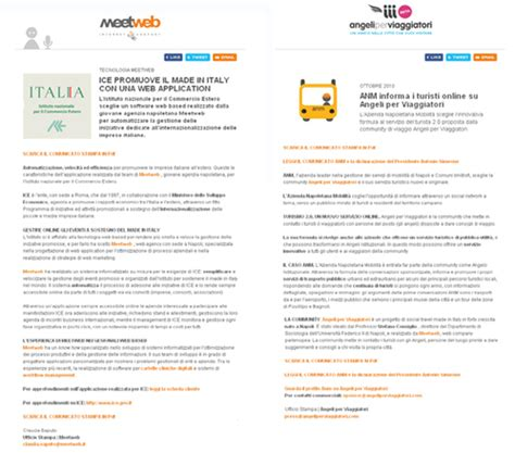 Press Release On Newsletter Newsletter Cosa Dire E Come Farlo Piccola Guida Al Direct Email Marketing Meetweb