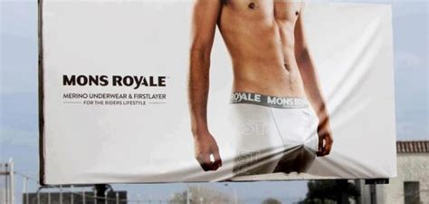 mons bulge bulging billboards mons royale