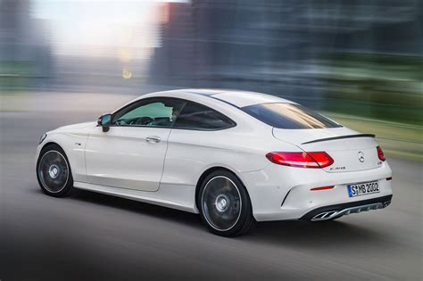 mercedes amg mercedes amg c43 coupe revealed the c63 gets a baby