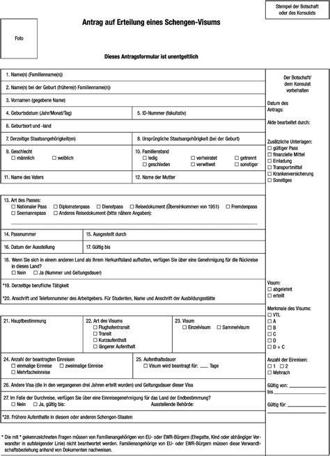 Muster Einladung Schengen Visum Einladung Ausl 228 Ndischer Besucher Muster Thegirlsroom Co