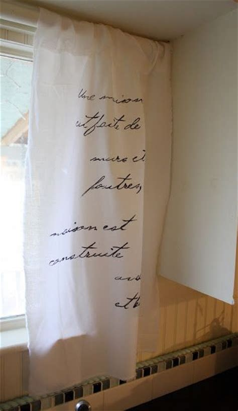 black curtains lyrics make these cute french script curtains for under 5