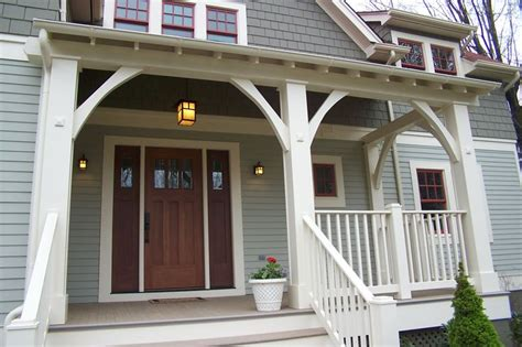 craftsman style front porch posts decorative porch posts craftsman style porches pinterest