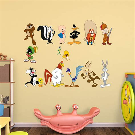 looney tunes wall stickers looney tunes collection wall decal shop fathead 174 for