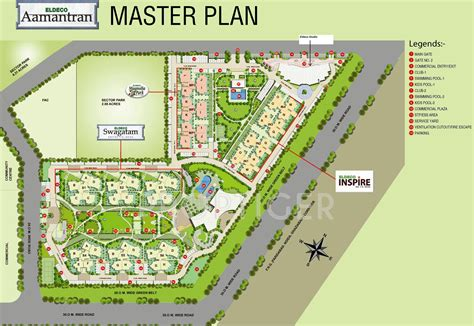 Floor Plans With 2 Master Bedrooms 1375 Sq Ft 2 Bhk 2t Apartment For Sale In Eldeco Group