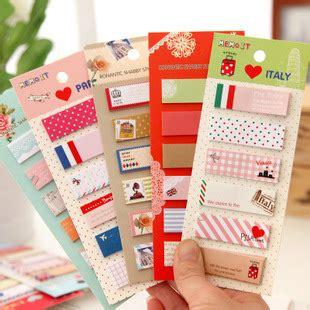 Sticky Notes Memo Stationery Kawaii Bandage Memo 1 pieces vintage ᗜ Lj sticky sticky notes