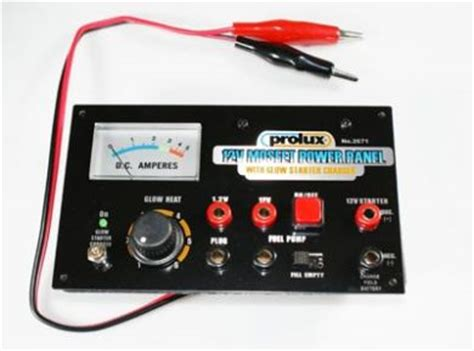 Prolux Starter 12v Dc anthony s pete n planes prolux mosfet 12v power panel w