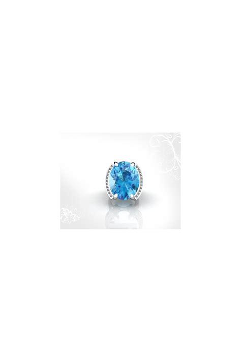 18k gold topaz princess cut gemstone ring