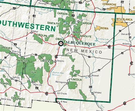 map us national forests forest service forest service new mexico