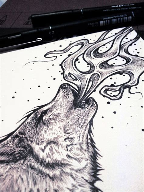 wolf tattoo designs tumblr wolf drawing www imgkid the image