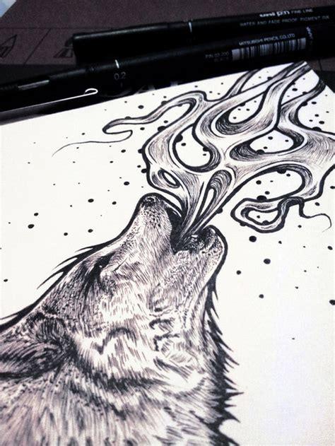 imagenes tumblr lobos dibujo lobo tumblr