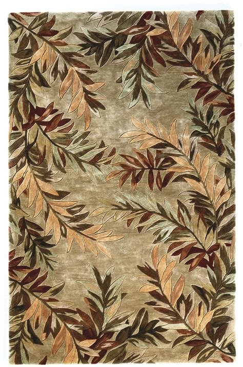 tropical themed rugs kas kas sparta tropical branches 3144 area rug 11921