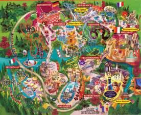theme park brochures busch gardens williamsburg theme