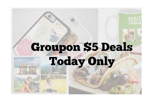 5 dollar deals groupon