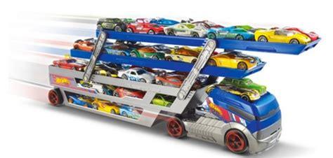 Wheels Turbo Hauler With 20 Diecast Multi Colour today only wheels turbo hauler 20 diecast cars 23 99 lowest price