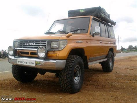 Land Cruiser Awning by New Baby Toyota Landcruiser Lj78 Page 2 Team Bhp