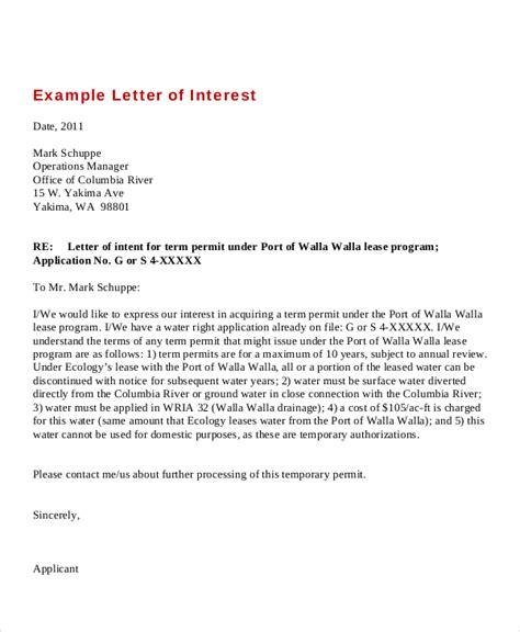 cover letter interest sample fresh expression of interest cover