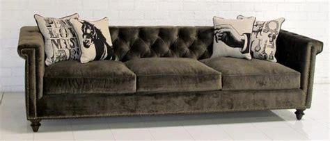 Wrapped Sofa Cushions by Www Roomservicestore Sinatra Sofa In Brown Velvet