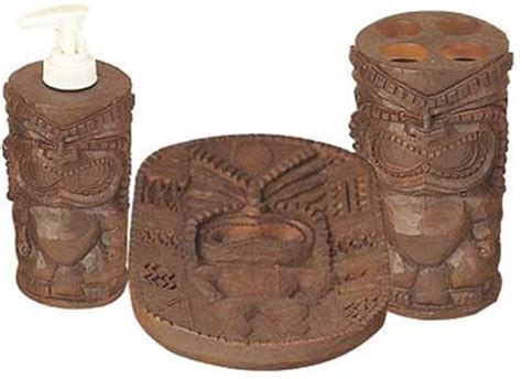 Tiki Bathroom Accessories Tiki Bathroom Deanmillerprints