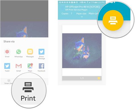 android print screen how to print from the samsung galaxy s7 android central