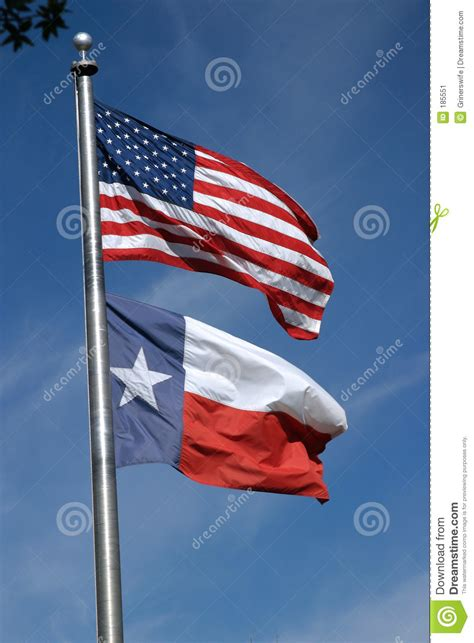 texas flags us flag store american and texas flags stock image image 185551