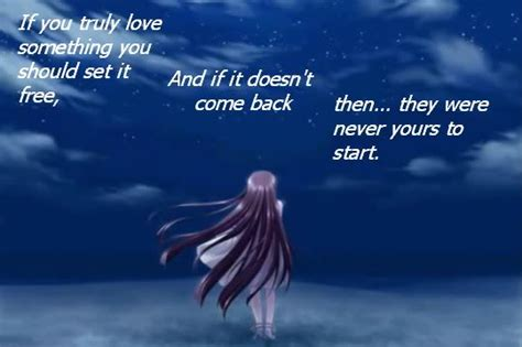Sad Anime Quotes About Love