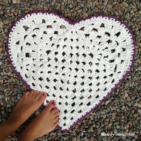 heart pattern rugs 1000 images about gratis virkm 246 nster on pinterest