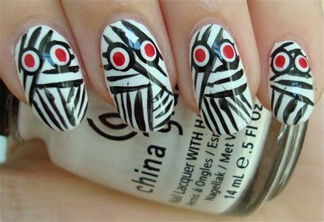 natural nail art tutorial nail art tutorial mummy nails swatch and learn