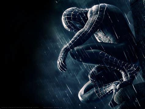 black spiderman spiderman desktop wallpaper superhero