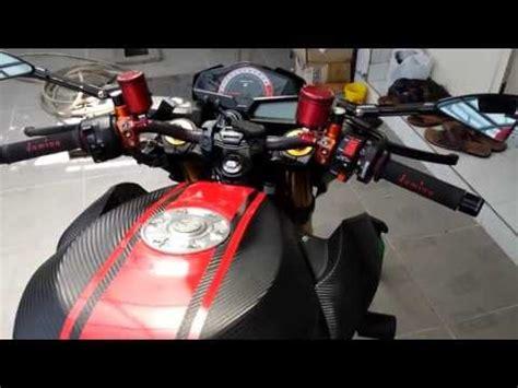 Kenalpot Racing Yamaha Scorpio Z Sc Projec Karbon High Peforma kawasaki z250 modifikasi doovi