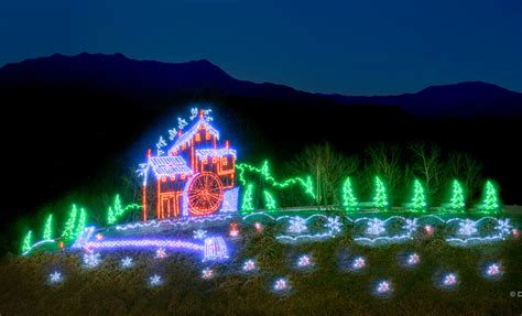 pigeon forge lights pigeon forge winterfest guide lights schedule map
