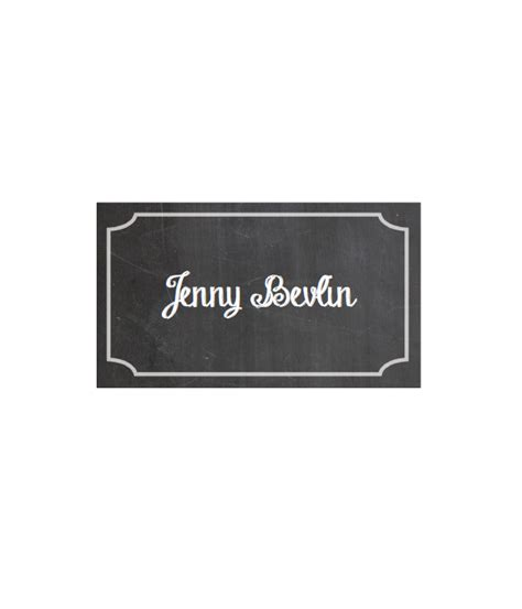 chalkboard place cards template chalkboard place cards chicfetti