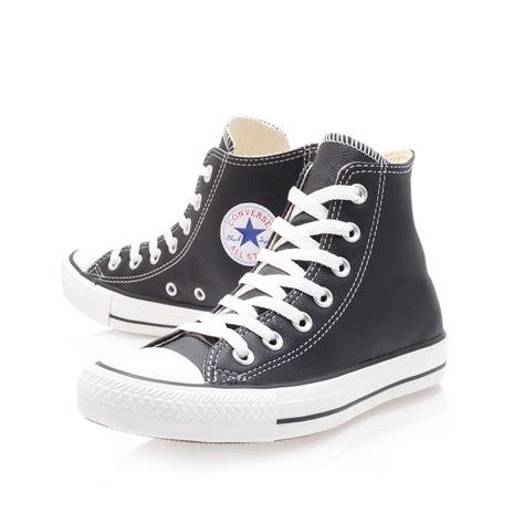 Jual Converse Leather Hi ct leather hi converse ct leather hi black casuals by converse