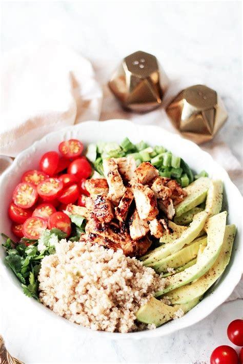 salade composee au poulet au miel recette de plat