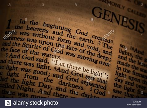 what is the book of genesis page of the book of genesis in the bible with the