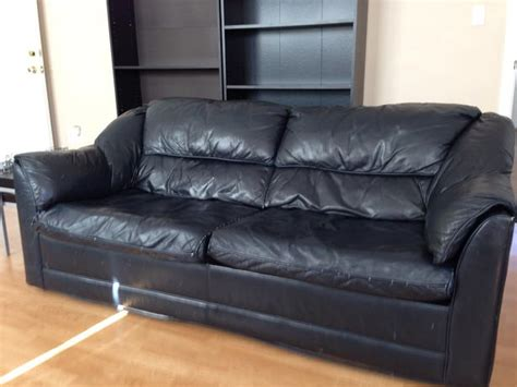 comfortable hide a bed leather hide a bed couch oak bay victoria