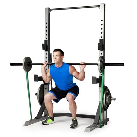 squats and bench press cap barbell fm cb8000f deluxe power cage review
