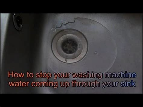 water coming up from sink how to fix water coming up through your sink from the