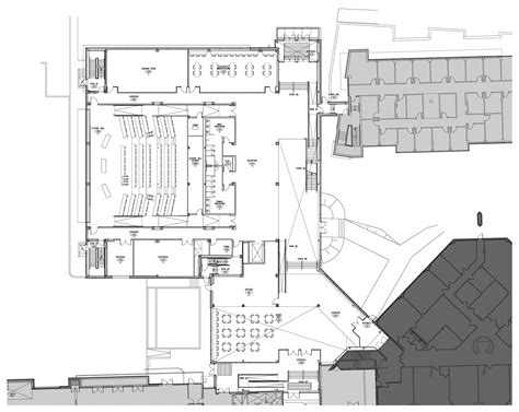 lecture hall floor plan what will the building look like applied health
