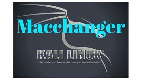 xss tunnel tutorial how to use macchanger