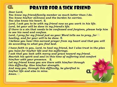 words to comfort a sick friend beautiful prayers pinterest prayer for a sick friend