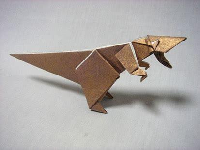tyrannosaurus origami tyrannosaurus
