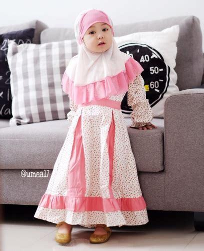 Baju Glangsaran Anak 18 17 model baju muslim anak perempuan terbaru elegantria
