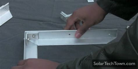 How To Make A Glass L by How To Build An Aluminum Frame Solar Panel Part 2 3