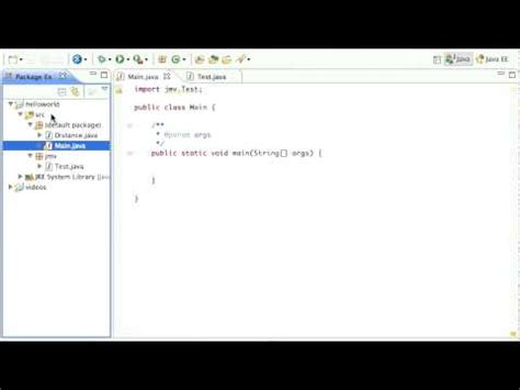 eclipse tutorial java youtube java packages in eclipse tutorial youtube