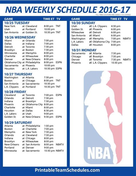 Mba Playoff Tv Schedule by 17 Best Images About Nba Basketball Schedule 2017 On