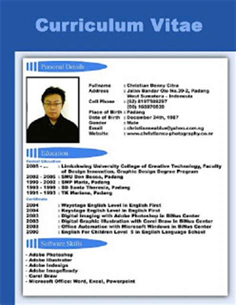best cv for application gratisselling
